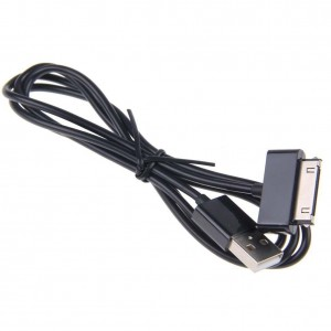 TopOne 3ft USB Data Sync Charger Charging Cable Cord for DELL Streak 7 Mini 5 Black