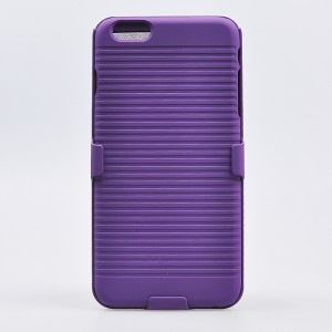 Eastvita New Hot Sale General Apple iPhone 6(5.5) and iPhone 6S Plus Ultra Slim Hard Skin Case Cover Shell Supporting Frame Three In One Mobile Phone Protection Shell Shock-Absortion Impact Resistant For Your Smartphone Must-have Cell Phone Accessory Purp