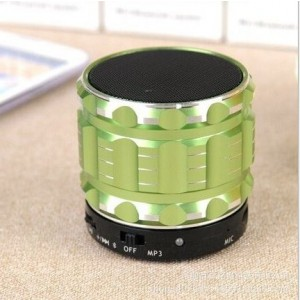 Eastvita Portable Mini Bluetooth Speakers Wireless FM Radio Support SD Card For iPhone Color Green