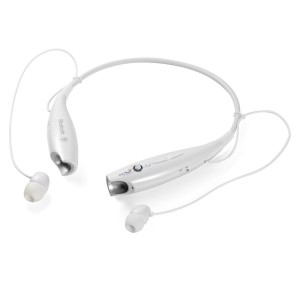 EastVita Ultra HBS800 Bluetooth 4.0+ EDR Stereo Wireless Sport Headset Earphone Earbuds Headsets for iPhone Samsung LG Color White