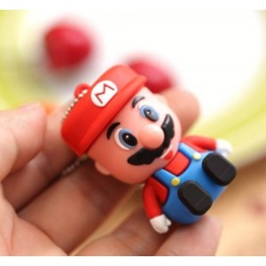 EastVita Cartoon Mario Model USB 2.0 Memory Stick Flash Pen Drive 4GB