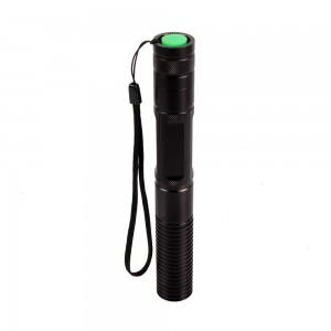 EastVita 1 mw Cylindrical Aerometal Blue Laser Pointer; Model: 940; Color: Black