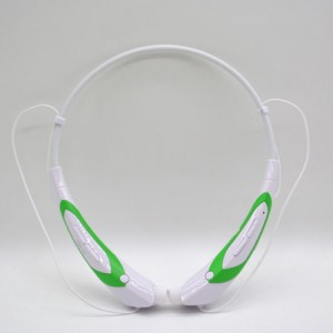EastVita Sport Wireless Bluetooth 4.0 Headset Headphone Stereo Earphone for iPhone Samsung LG HTC Tablet laptop Color White/Green