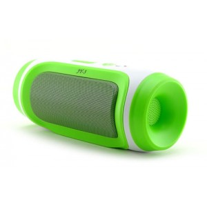 Eastvita New Wireless Stereo Super Bass Bluetooth Speakers for iPhone 6 Galaxy HTC Grey Color Green