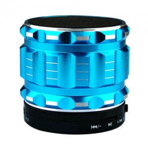 Eastvita Portable Mini Bluetooth Speakers Wireless FM Radio Support SD Card For iPhone Color Blue