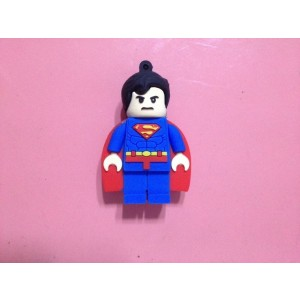 EastVita Cool Lego Superman USB Flash Drive 2GB USB 2.0 Memory Stick USB Pen Drive