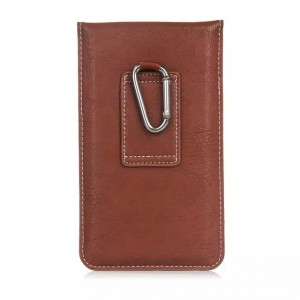 Eastvita Universal for Cell Phone Wallet Bag Purse Pouch Sleeve Case CardPocket Leather Large Brown