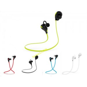 Eastvita Hot Sale New Bluetooth Wireless Headset Stereo Headphone Earphone Sport Universal Handfree White