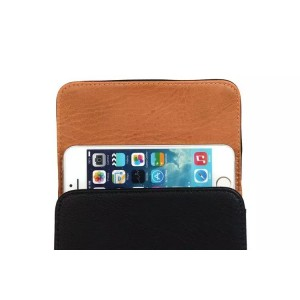 "Eastvita Waist hanging Leather mobile phone cases for iPhone 4 or 5 or 6 4.7"" or Plus 5.5"""