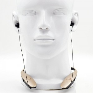 EastVita New Tone Silver Infinim HSB-900 Bluetooth Headset for iPhone Samsung LG Color Gold