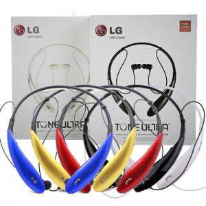 Eastvita Hot Sale New For LG Tone HBS 800 Bluetooth Wireless Stereo Headset Neckband Tone Ultra Earbud Red