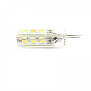G4 1.5W 24*3014 SMD 100-Lumen 2700-3200K Warm White LED Light Bulb (2-Pack)