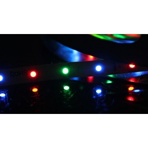R10 RGB LED Waterproof Ribbon Light Strip for Car & Home