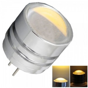 G4 COB 2W 90LM 3000-3300K Warm White Light Cylindrical Crystal Hanging Lamp (12V)