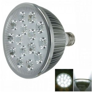 E27 15W 15 LED 1400 Lumen 6000-7000K White LED Spotlights Bulb (85-265V)