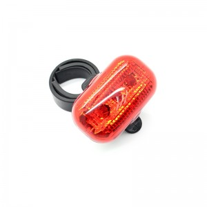 3-LED 3-Mode Safety Bike Tail Light
