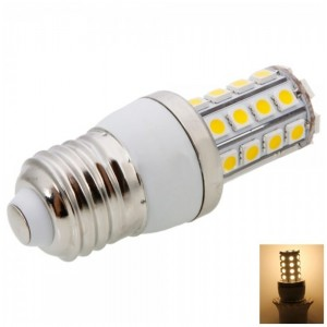 E27 5W 36LED SMD5050 2700-3200K Dimmable Warm White LED Corn Light Bulb (220-240V)