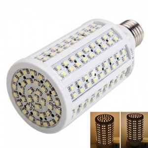 E27 10W 216LED 1000LM 3000k Warm White Light Corn Light (110V)
