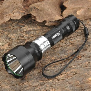RAYSOON RS-607 XM-L T6 5-Mode 900LM White LED Flashlight w/ Strap (1 x 18650)
