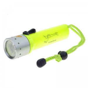 POP lite F2 Cree Q5 100-Lumen Diving LED Flashlight (4*AA)