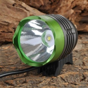 SingFire SF-90 Cree XM-L T6 4-Mode 1000lm White Bicycle Headlamp - Green + Deep Grey (4 x 18650)
