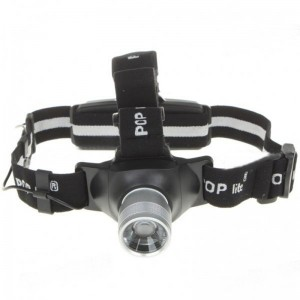 H6 Rechargeable Focus-Adjustable and Dimming Cree Q5 White LED Headlamp with Charger Set