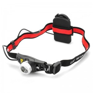 Zooming Cree Q5 200LM 2-Mode 1-LED White Light Headlamp (3 x AAA/3.6-4.5V)