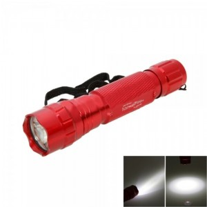 TangsFire 501B 6W 1200LM Aviation Aluminum Flashlight Red