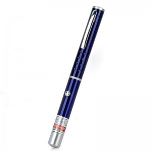 1mW 532nm Green Laser Pen - Midnight Blue (2 x AAA)