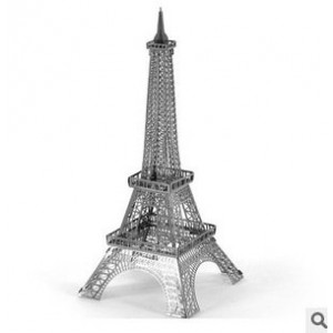 3D Metallic Puzzle Eiffel Tower Deluxe