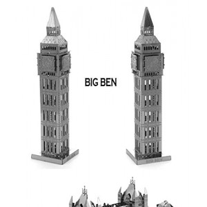 London Big Ben - World Great Architecture 3D Puzzle - Cubic Fun Series