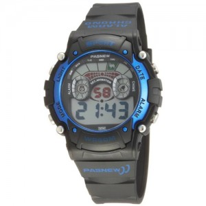 Cool LED Waterproof Sports Wrist Digital Watches for Teens Guys Boys (Blue)