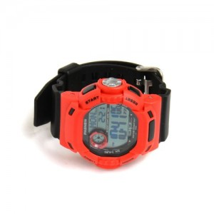 PASNEW PSE-319 Waterproof Dual Time Students Sport Watch