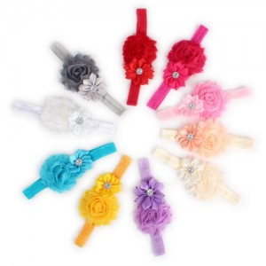 10pcs Colorful Beautiful Baby Girls Headbands, Hair Accessories