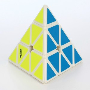 2015 New QiYi MoFangGe MFG Pyraminx Speed Cube Magic Cube White