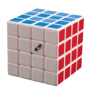 QiYi MoFangGe QiHang 4x4x4 Magic Cube Speed Twist Puzzle, White