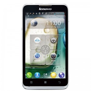 Lenovo A590 5-inch 512 MB RAM 4 GB ROM Android 4.0 MTK6577 Dual Core 1GHz Root Google play GSM Mobile Cell Phone Smartphone