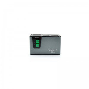 Cager B030-1 2500mAh Dual USB External Battery Power Charger (Grey)