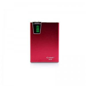 Cager B030-4 10000mAh Dual USB External Battery Power Charger (Red)