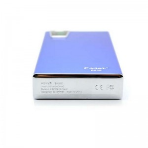 Cager B030-6 15000mAh Dual USB External Battery Power Charger (Blue)