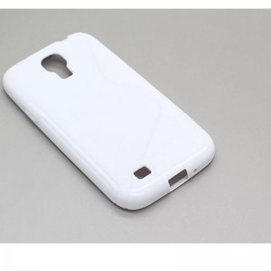 Protective S Style TPU Back Case for Samsung Galaxy S4 / i9500 (White)