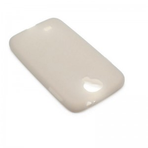 Protective Silicone Back Case for Samsung Galaxy S4 / i9500 (Grey)