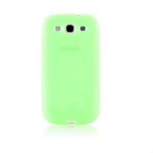 Silicone Protective Case for Samsung Galaxy S3 (Green)