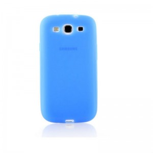 Silicone Protective Case for Samsung Galaxy S3 (Dark Blue)