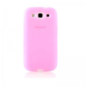 Silicone Protective Case for Samsung Galaxy S3 (Pink)