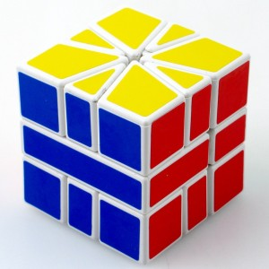 Shengshou SQ1 SQUARE-1 Speed Cube Puzzle White