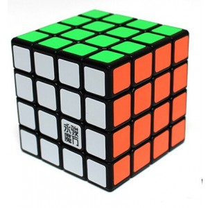 YongJun Moyu Yusu 4x4x4 Magic Cube Black