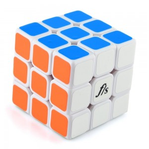 Fangshi Light Glume series 3x3x3 Speed Cube White