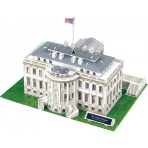 The White House - World Great Architecture - 64 Pieces 3D Puzzle - Cubic Fun Series .
