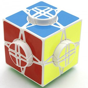 YJ Moyu Wheel of Time Magic Cube 76mm White